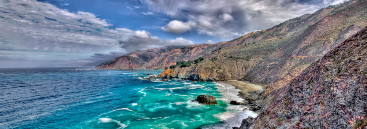Dreaming of Big Sur Panorama
